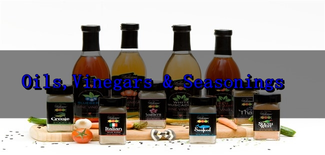 Oils Vinegars and Seasonings