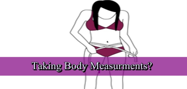 Taking Body Measurements for Clothing