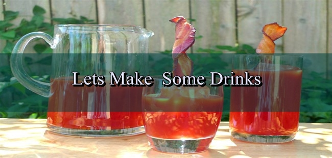 swizzle sticks with drink
