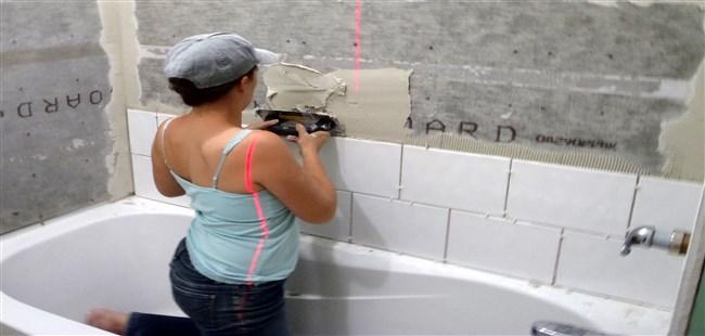 tiling bathroomdesign wall