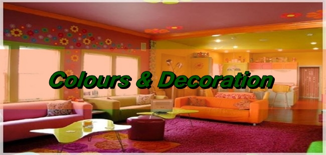 How To Decorate My Home With Colours?