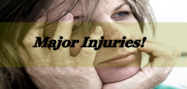 How To Deal With Major Injuries?