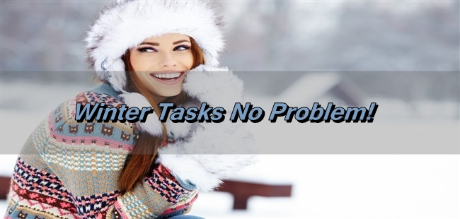 How Can I Handle The Winter Tasks Easily?