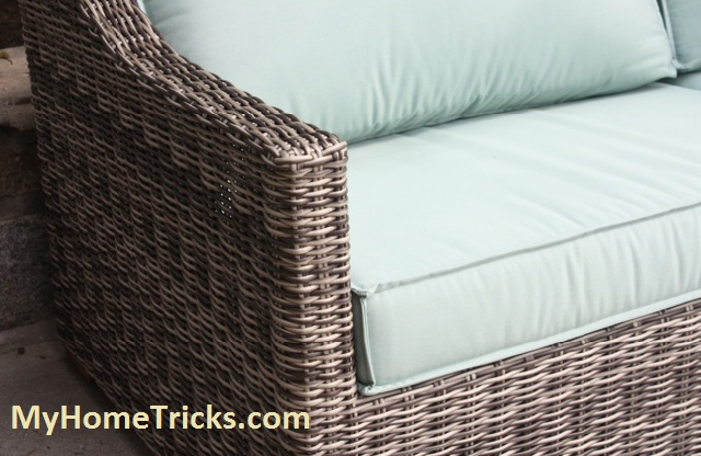 wicker furniture cleaning