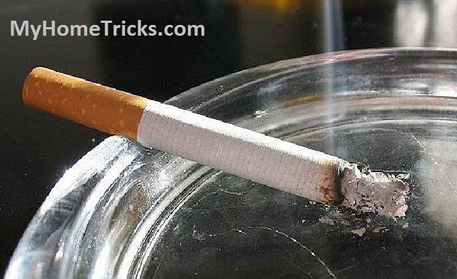 removing cigarette odors from home