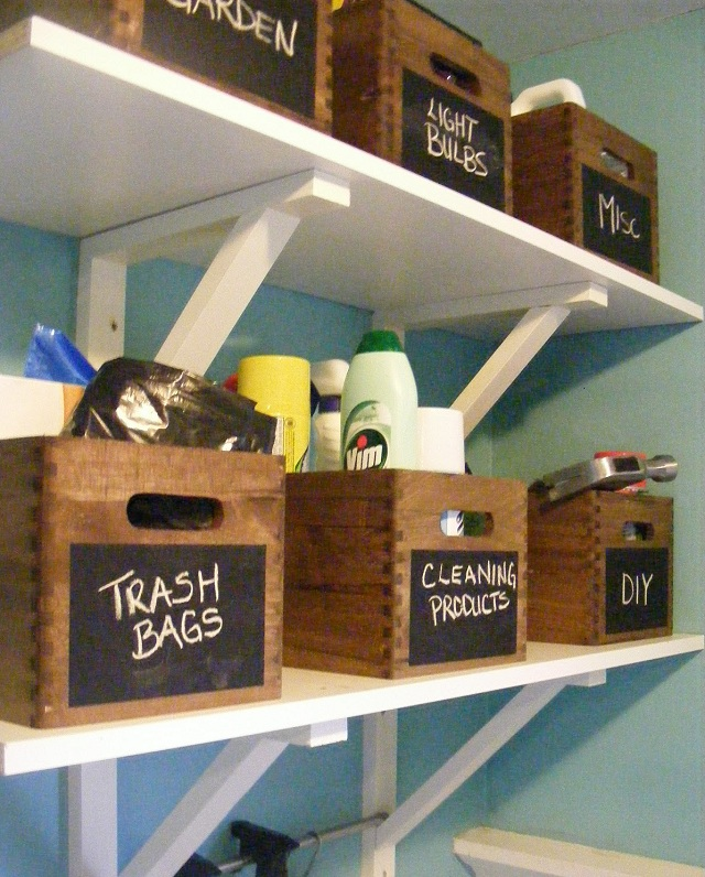 organize laundry room 1