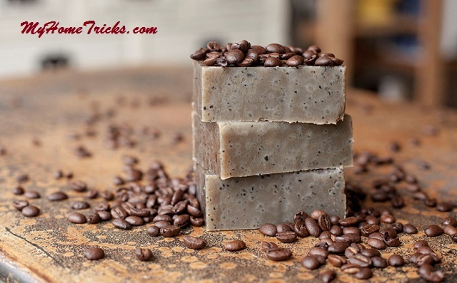 Homemade Coffee Soap