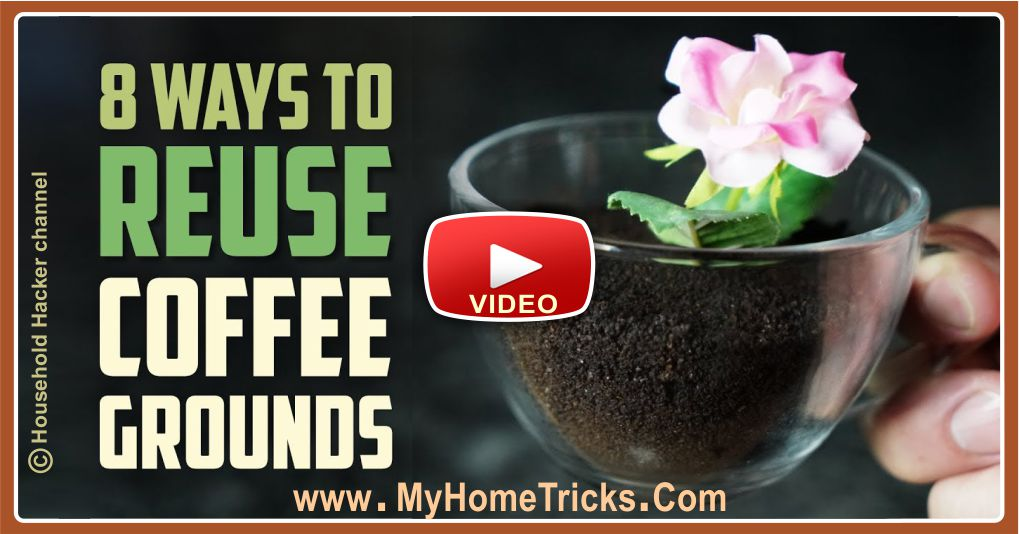 6 Smart Ways to Reuse Coffee Grounds