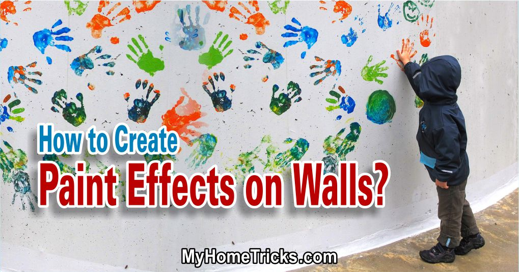 Paint Effects for Walls Interior