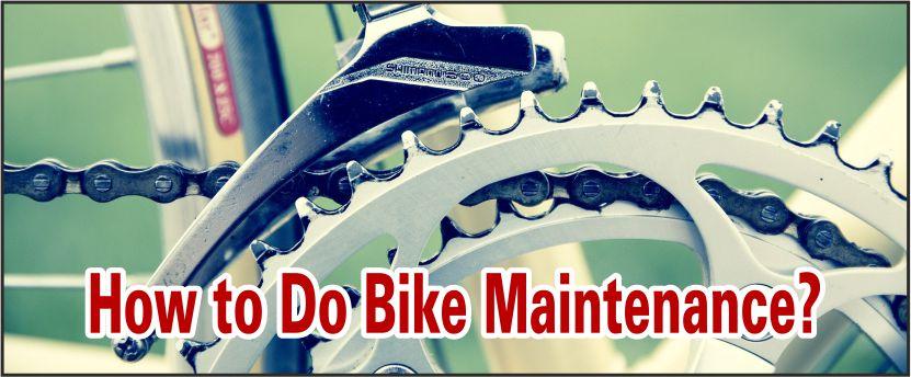 how to do bike maintenance