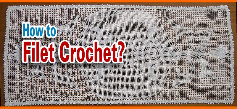 Filet crochet DIY