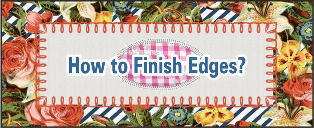 finishing edges