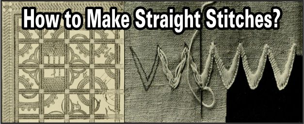 Make Straight Stitches