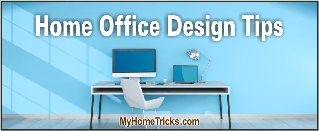 plan your home office design
