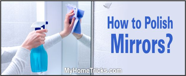 how to polish mirrors