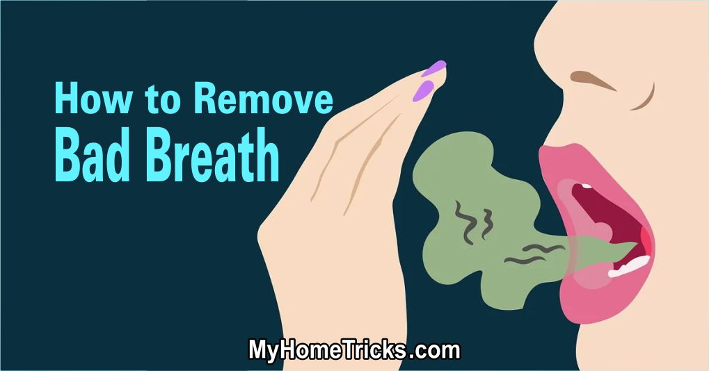 How to Remove Bad Breath? The Basic Rules