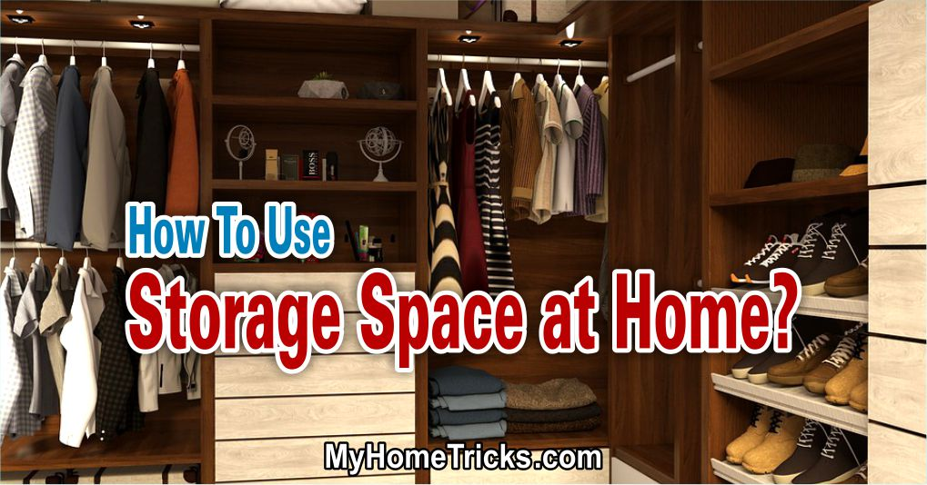 storage space at home