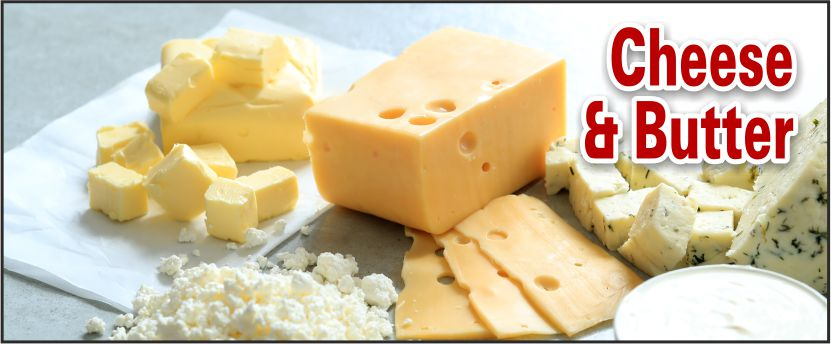 tips about cheese and butter
