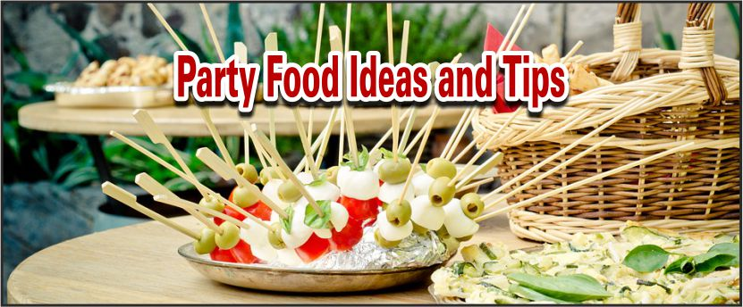 Impromptu Entertaining Foods
